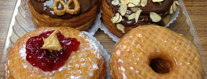 California Donuts is one of The 15 Best Places for Pastries in Los Angeles.