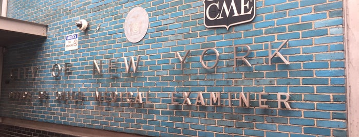 Office of the Chief Medical Examiner is one of NYC Percent for Art.