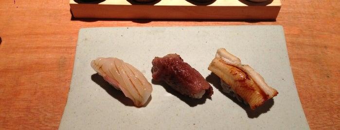 두사라 is one of The 15 Best Places for Sushi in Seoul.