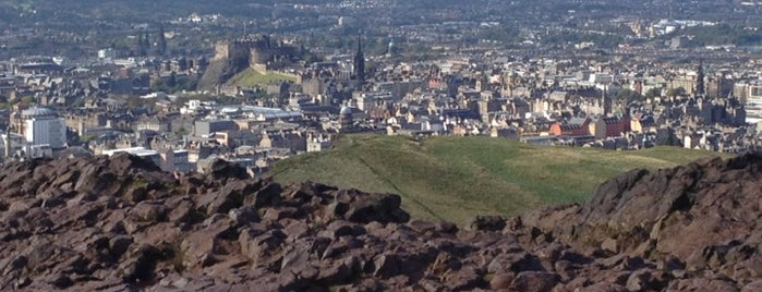 Arthur's Seat is one of Go Ahead, Be A Tourist.