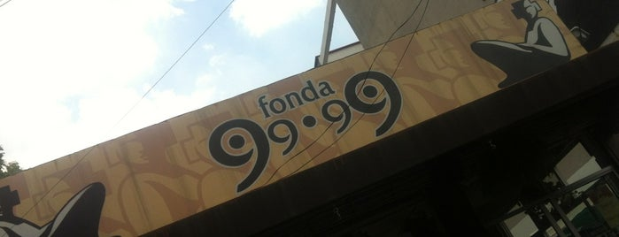 Fonda 99.99 is one of Restaurantes.