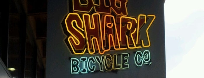 Big Shark Bicycle Company is one of informational sports clinic.