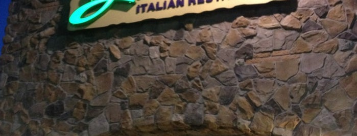 Olive Garden is one of Places to Take Leidy 2014.