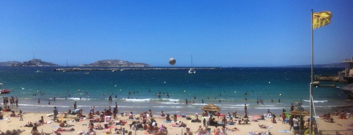 Plage des Catalans is one of Marseille.