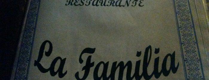 La Familia is one of Restaurantes!!.