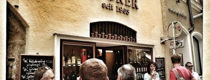 Sporer Likör- Punschmanufaktur seit 1903 is one of SALZBURG SEE&DO&EAT&DRINK.