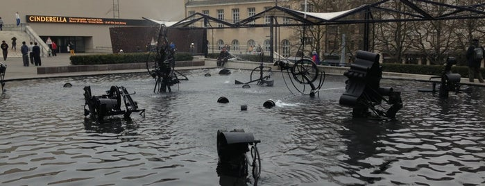 Tinguely-Brunnen is one of Mulhouse-Basel.
