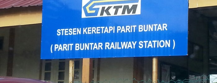 Station KTM Parit Buntar (Train Station) is one of Go Outdoor, MY #6.