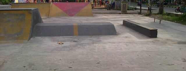 Udayana skatepark is one of Guide to Mataram's best spots.