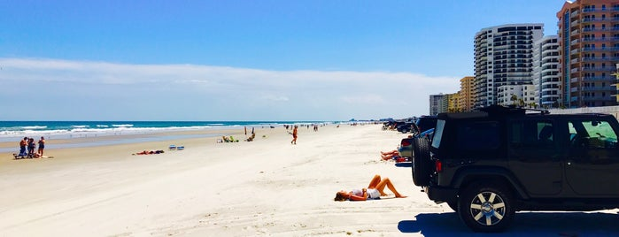 Daytona Beach is one of The 50 Most Popular Beaches in the U.S..