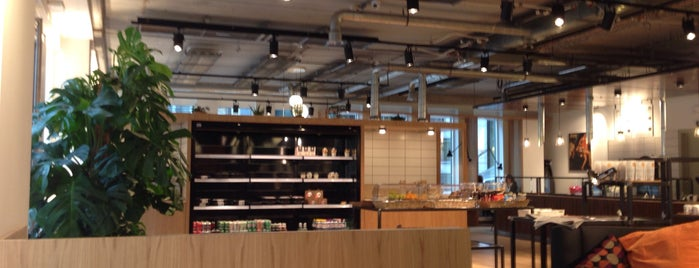 The Office (Creative Coffee & Salad) is one of Bruxelles, ma belle.
