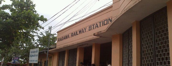 Ragama Railway Station is one of Railway Stations In Sri Lanka.