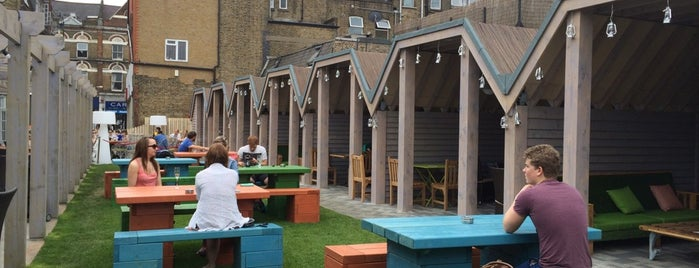 The Castle is one of London's Best Beer Gardens.