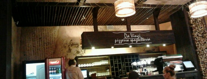 Da Vinci Pizzeria & Spaghetteria is one of my life.