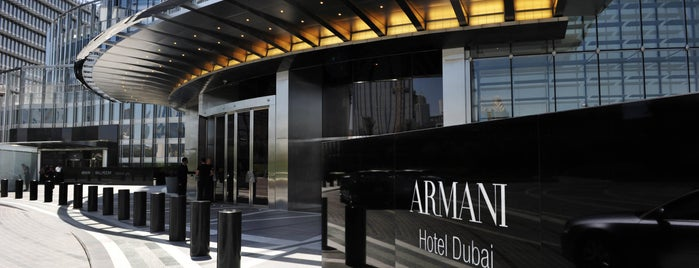Armani Hotel Dubai is one of Best Places in Dubai.