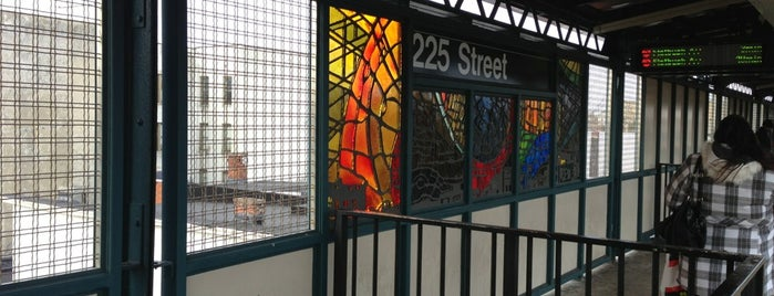 MTA Subway - 225th St (2/5) is one of NYC Subways 4/5/6.