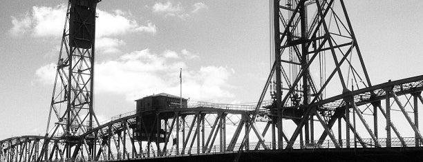 Steel Bridge is one of Portlandia fun.