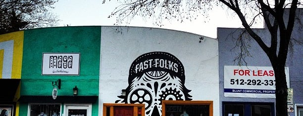 Fast Folks Cyclery is one of Coffee!.
