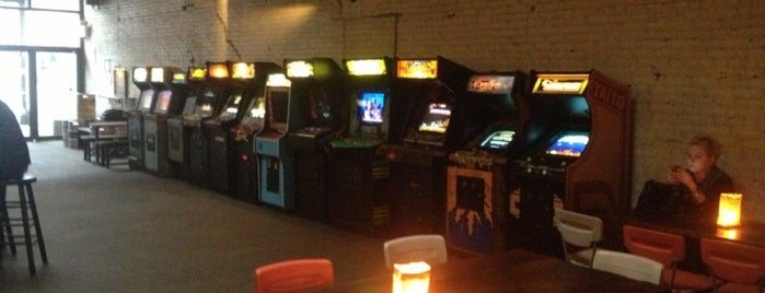 Barcade is one of uwishunu brooklyn.