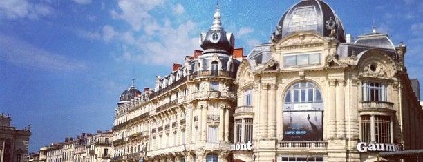 Place de la Comédie is one of Montpellier.