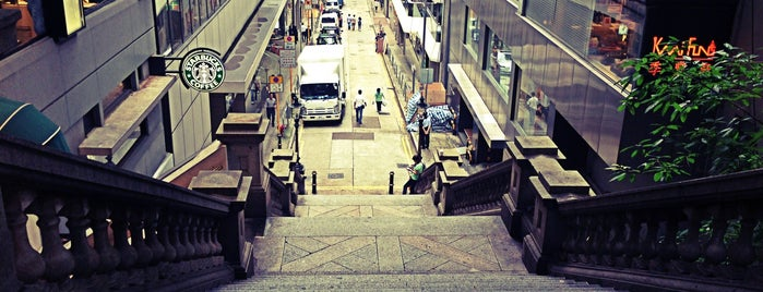 Duddell Street Steps and Gas Lamps is one of Hong Kong.