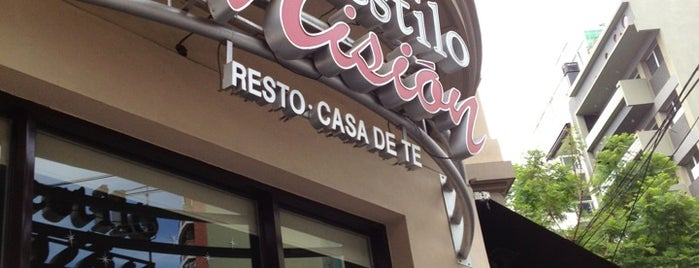 Estilo Misión is one of Restos-Cerca.