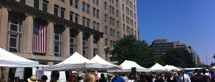 FRESHFARM Market by the White House is one of DC's favorites.