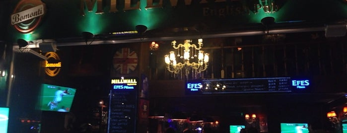 Millwall English Pub is one of Kadıköy Güzelleri.