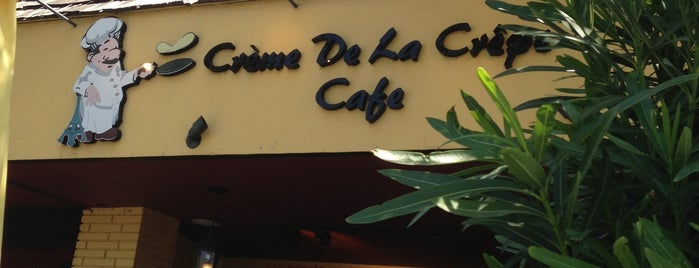 Creme de la Crepe is one of Best restaurants.
