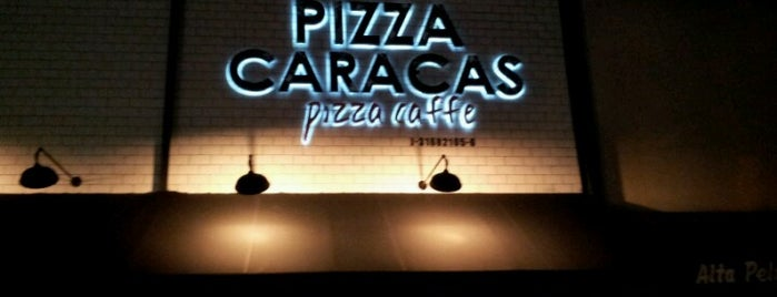Pizza Caracas. Pizza-Caffe is one of Comida en Caracas.