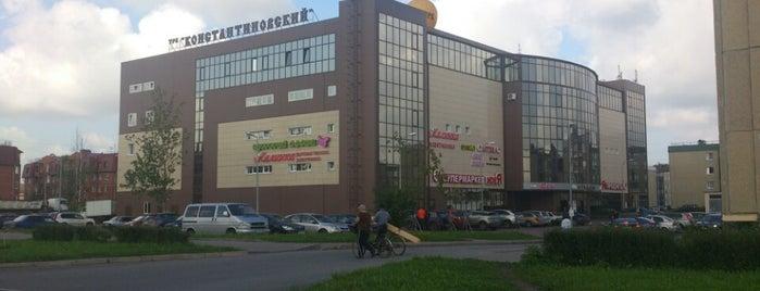 ТРК «Константиновский» is one of TOP-100: Торговые центры Санкт-Петербурга.