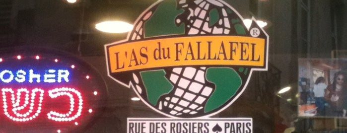 L'As du Fallafel is one of Paris - best spots! - Peter's Fav's.