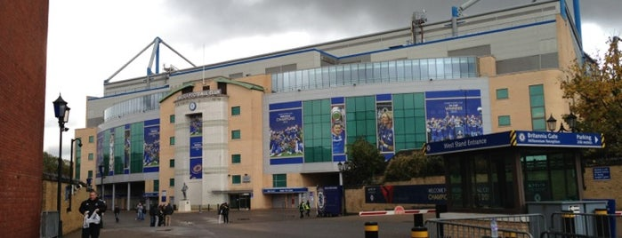 Stamford Bridge is one of My Stadium Tour.
