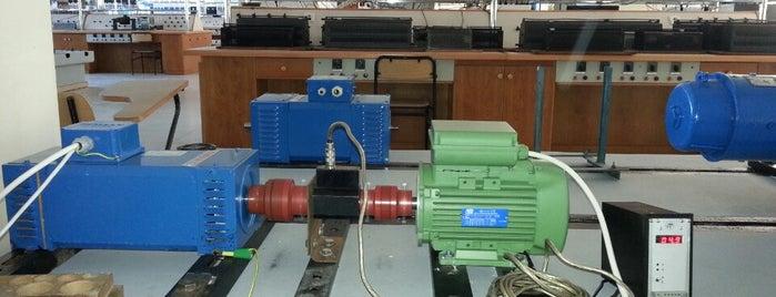 ITU Electrical Machines Laboratory is one of İTU.