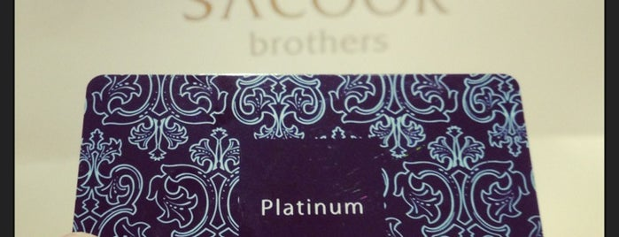 Sacoor Brothers is one of Sacoor Stores.
