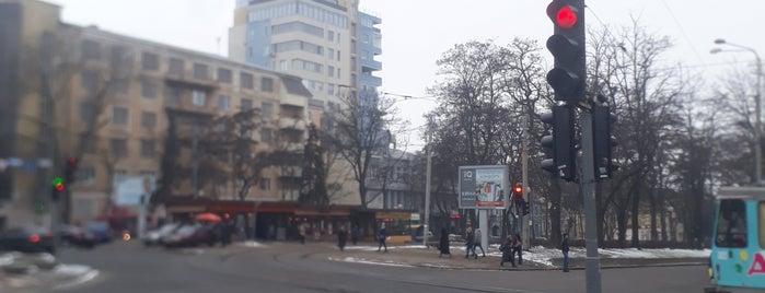 проспект Дмитра Яворницького is one of Днепропетровск.