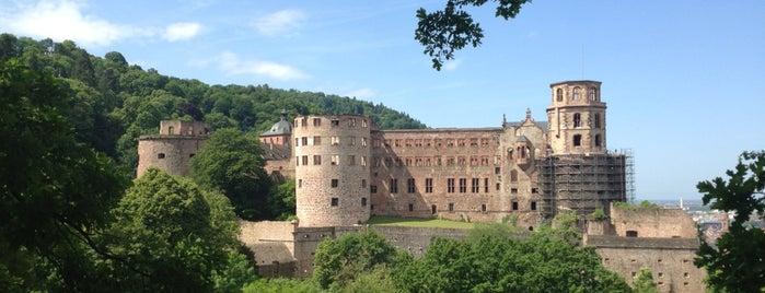 Heidelberg Castle is one of Karlsruhe + trips.