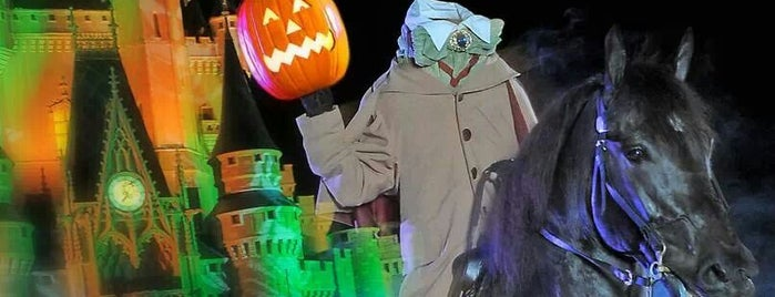 """Mickey's """"Boo-to-You"""" Halloween Parade is one of Work."""