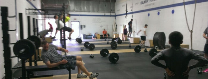 CrossFit Burr Ridge is one of Favorite places.