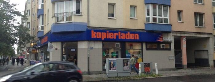 Kopierladen is one of copy shops.