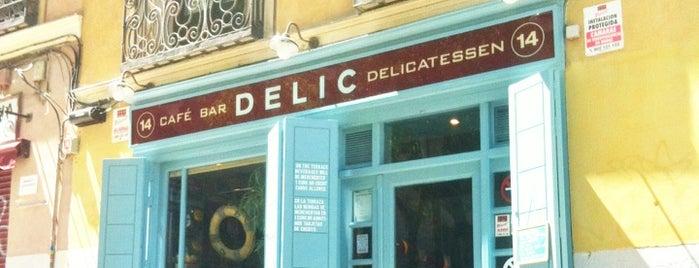 Café Bar Delic is one of LA LATINA.