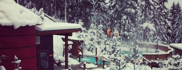 Scandinave Spa Whistler is one of Top 5 Off Mountain Adventures.