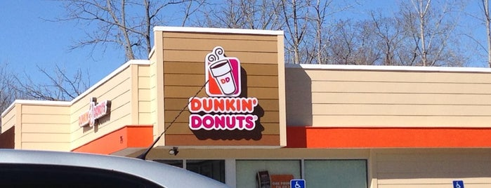 Dunkin' Donuts is one of food.
