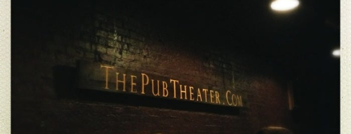 The Pub Theater is one of 100 Best Places in Chicago: TOC Staff Picks.
