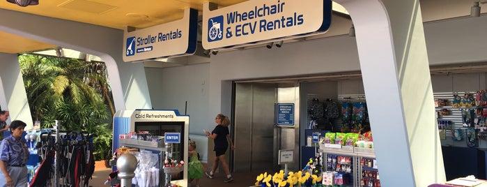 Stroller/Wheelchair Rental is one of Walt Disney World - Epcot.