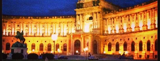 Hofburg is one of Food & Fun - Vienna, Graz & Salzburg.