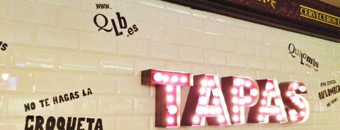 Quilombo Pintxos & Tapas is one of Madrid: Comer rico..