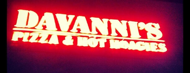 Davanni's Pizza & Hot Hoagies is one of MN Food/Restaurants.