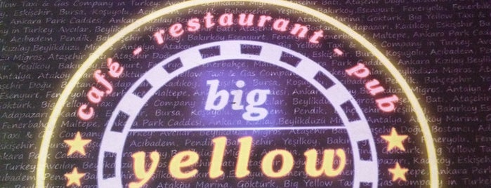 Big Yellow Taxi Benzin is one of Yerler - Antalya.