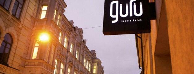 Mano Guru is one of Where to eat in Vilnius.
